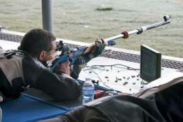 Guy Starik shooting prone