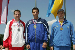 Guy Starik European Champion prone 50m in Belgrade