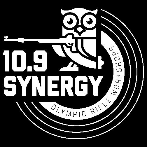 10.9 Synergy white logo